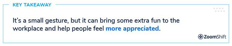 Employee Appreciation Day Ideas - Nicknames