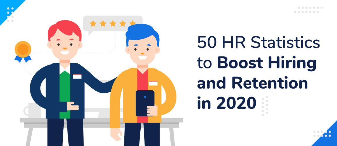 50 HR Statistics to Boost Hiring and Retention in 2020