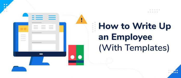 How to Write Up an Employee (With Templates)