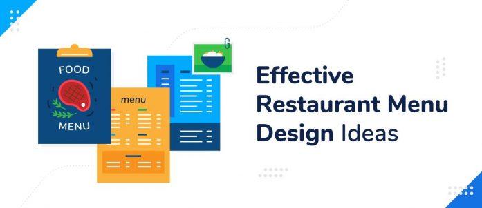 7 Effective Restaurant Menu Design Ideas
