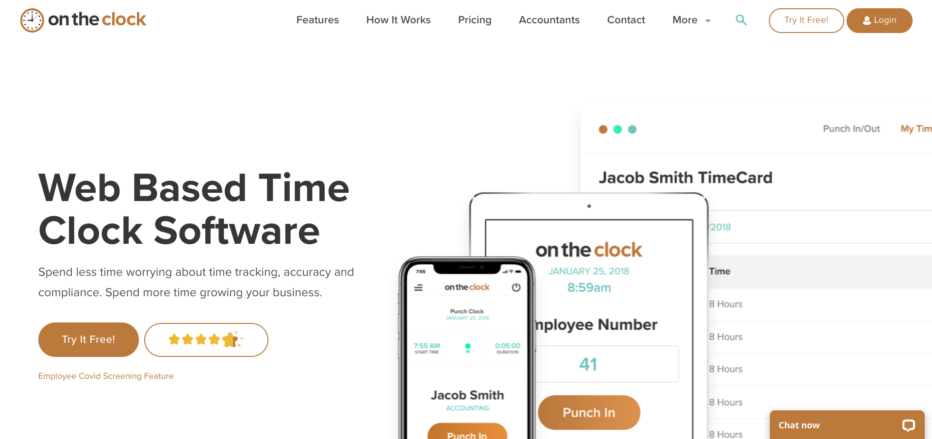 Time and Attendance Software - On The Clock